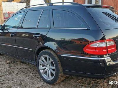 używany Mercedes E320 W211CDI R6 204kM, 500Nm AVANTGARDE, kombi