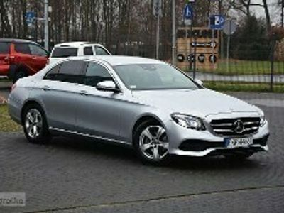 używany Mercedes E200 Klasa E W213 200 Klasa E 2017r - 2.0automat - Bogate wyposażenie