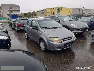 używany Chevrolet Kalos 1.3 2007r. ręczna klima.