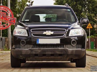 używany Chevrolet Captiva 2.0 CDTi Serwis Zadbany Gwarancja Raty Zamiana
