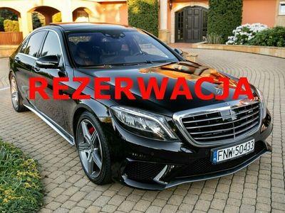 używany Mercedes S63 AMG AMG 5.5dm 585KM 2015r. 84 000km