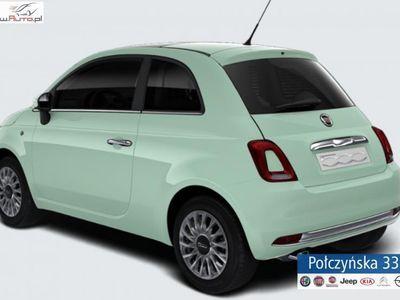 used Fiat 500 1.2dm3 69KM 2019r. 5km 1.2 Lounge 69KM AUTOMAT | Zielony Lattementa | Abonament od 655 PLN