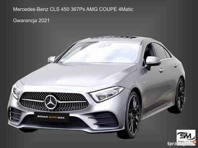 używany Mercedes CLS450 3dm 367KM 2018r. 37 673km