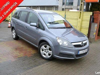 używany Opel Zafira 1.9 CDTi 101KM Klimatronic 7 osobowy