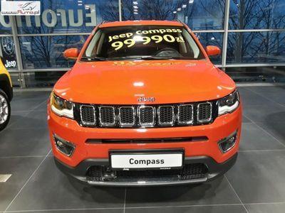 używany Jeep Compass 1.4dm3 140KM 2017r. 1km Limited 1,4 140 KM M6