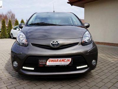 używany Toyota Aygo 1dm3 70KM 2013r. 126 000km LIFT 2013 LED Klimatyzacja Opłacona Gwarancja ASO