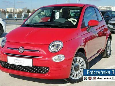 używany Fiat 500 1,0 Hybrid 70 KM | Lounge | Pak.City |klima automat |2021