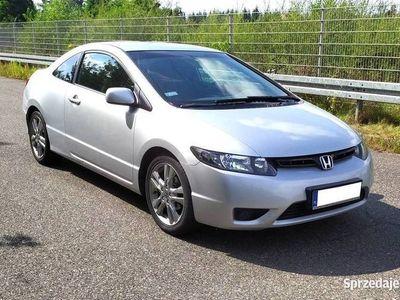używany Honda Civic 1.8 EX Coupe, Rej. PL, Gwarancja GetHelp