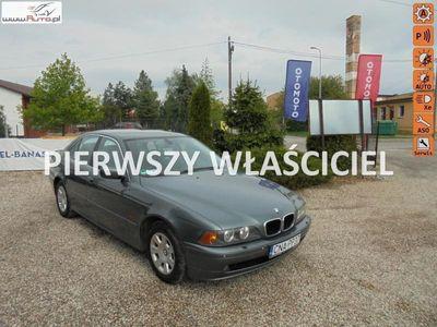 używany BMW 520 2.2dm3 170KM 2002r. 231 000km Zarejestrowana lift xenon duży wyświetlacz, parktronic, dvd,tel.