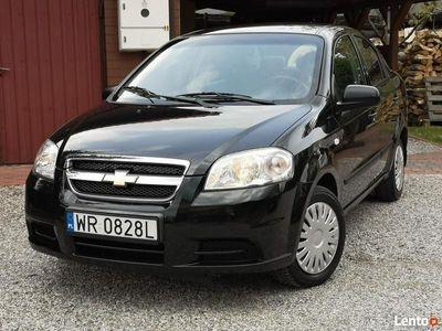 używany Chevrolet Aveo 2011r, Jak Nowy 71tyś km, Oryginał cały, Salon Polska, 1 Właściciel T200/T250 (2002-2011)