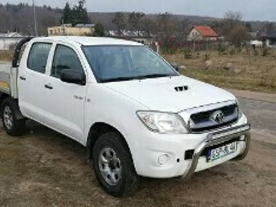 używany Toyota HiLux VII 4x4 Reduktor+Blokada 5 osob Tylko 159Tkm klima