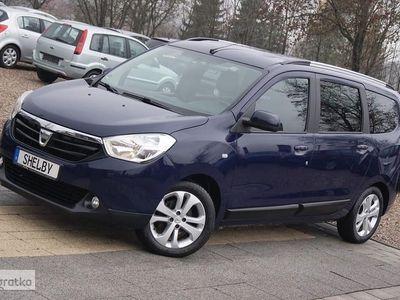 używany Dacia Lodgy 1.2Tce 115KM Navi Klima Skóra 7 foteli Gwarancja, Kościerzyna