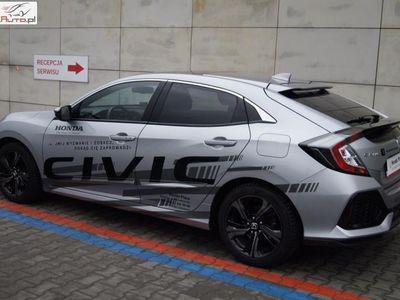 brugt Honda Civic 1dm3 129KM 2018r. 15 028km 1.0 129KM MT Executive Salon Polska ASO Bezwypadkowy Doposażony FV23%