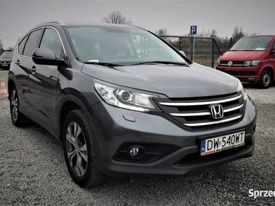 używany Honda CR-V IV 4WD 2.0 i-VTEC 155KM 2014r. 88tys.km. PL Salon, Kamera, Alcantara, Wrocław