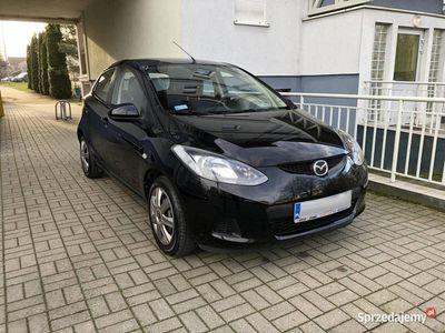 używany Mazda 2 1.4 Diesel, 5L/100KM, klimatyzacja, czarna, ZAMIANA