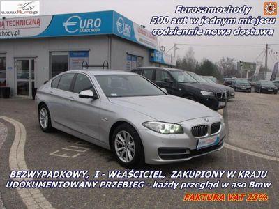 używany BMW 520 2dm3 185KM 2013r. 76 000km Salon Polska 2.0 D 185KM Automat