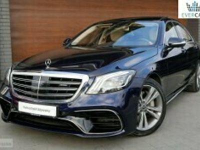 używany Mercedes S560 Klasa S W2224MATIC poLIFT 4.0 V8 469KM AMG