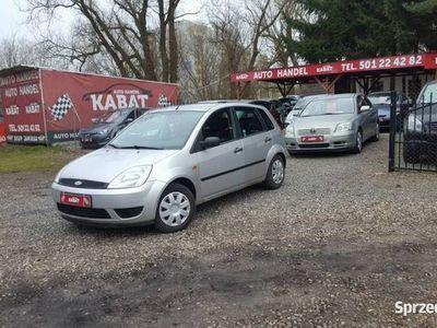 używany Ford Fiesta V Salon PL - II WŁ - 5 Drzwi - Wspomaganie - Stan BDB, Szczecin