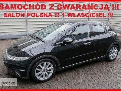 używany Honda Civic VIII Salon PL + 1 Właściciel + 100% Serwis !!!