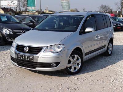 używany VW Touran Touran 2dm3 140KM 2009r. 216 138km Vw7-os Klimatronic Tempomat