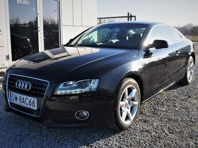 używany Audi A5 I (8T) 2.0 TFSI 180KM 2009r. Bi-Xenon + LED, skóry, Climatronic, zadbana