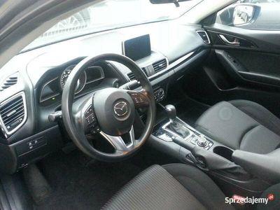 używany Mazda 3 2.0 165kM BENZYNA AUTOMAT, KAMERA 2016