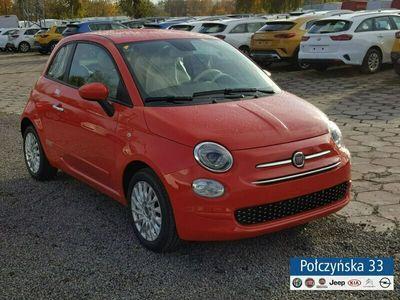 używany Fiat 500 Dualogic | wersja Lounge |Czerwony Corallo| Pakiet City,Komfort| 20