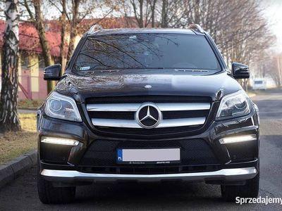 używany Mercedes 350 GL AMGBluetec 4x4 ASO 3.0D 7 OSÓB ZAMIANA