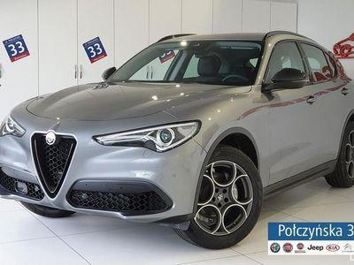używany Alfa Romeo Stelvio B-Tech 2.0 280KM AT8 |Szary Stramboli |Pakiet Convenience Plus