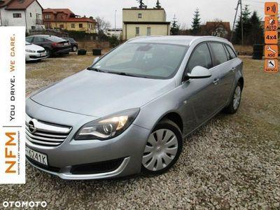 używany Opel Insignia 2.0 2.0 DTH (163 KM) EDITION 4x4 Automat Salon RP Faktura VAT automatyczna klima.