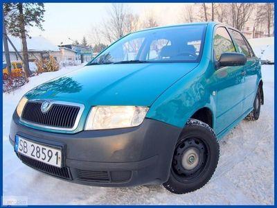 używany Skoda Fabia I 1.4 MPI 60 KM 5-DRZWI Salon PL 1-szy Wł.! 158 TYS.
