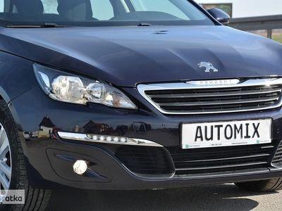 używany Peugeot 308 II 1.6 HDI 100% gwarancji przebiegu samochodu nawigacja LED faktura VAT, Sędziszów Małopolski