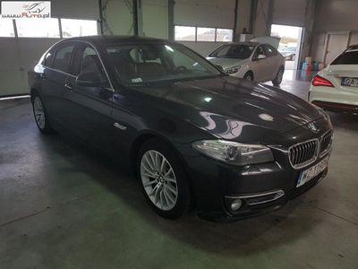 używany BMW 525 525 2dm3 218KM 2015r. 183 783km Seria 5 [F10] d xDrive Luxury Line