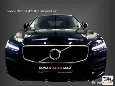 używany Volvo S90 2dm3 190KM 2017r. 20 202km Momentum + Geartronic