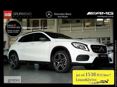 używany Mercedes GLA220 Klasa220 4M AMG KameraCofania GarminMap KeylessGo LedHighPerformance