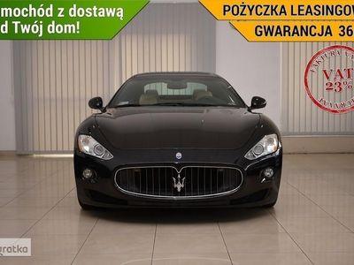 używany Maserati Granturismo VAT23% Bixenon Tempomat Climatronic Nawi Parktronic PAPIS
