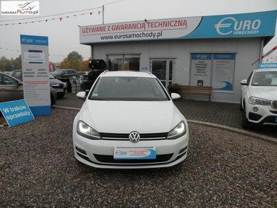 używany VW Golf 2.0dm3 150KM 2014r. 142 000km 2.0 tdi 150KM F-vat Gwa 1 rok