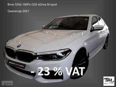 używany BMW 520 2dm 190KM 2018r. 25 200km