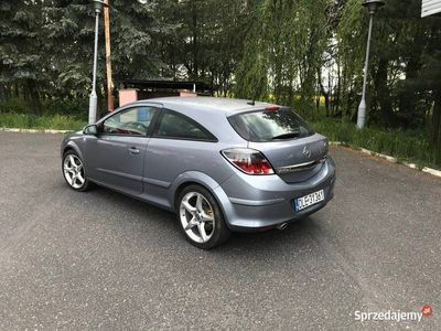 używany Opel Astra GTC Astra h2.0 Turbo B+G 170 km Nawigacja, klimatronik