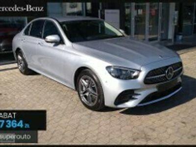 używany Mercedes 220 Klasa E 2.0d 4MATIC (194KM)   AMG+Premium+Pakiet utrzymania pasa ruchu