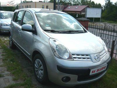 used Nissan Note 1.5dm3 86KM 2007r. 133 000km DCI ABS ręczna klima.