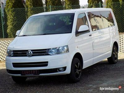 używany VW Caravelle Long 102KM Navi Czujniki Parkowania F. Vat23