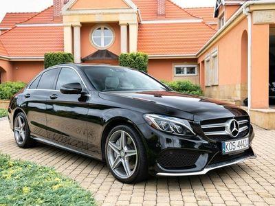 używany Mercedes C300 2dm 245KM 2017r. 50 000km