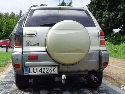 używany Toyota RAV4 uszkodzona jak na zdjęciach 2.0benzyna zamiana