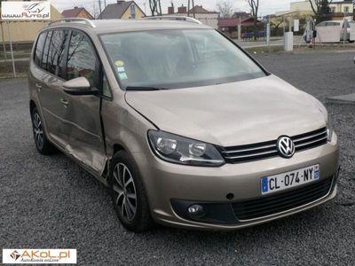 używany VW Touran 1.6dm3 105KM 2012r. 135 000km 1,6 TDI 105PS Automat DSG