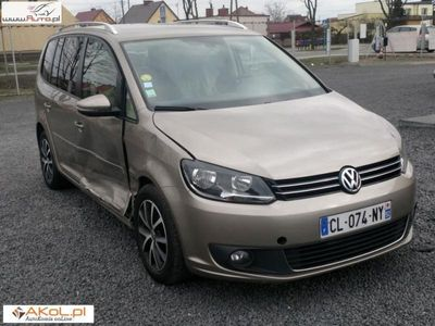 used VW Touran 1.6dm3 105KM 2012r. 135 000km 1,6 TDI 105PS Automat DSG