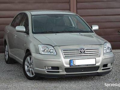 używany Toyota Avensis 2.0 D4D 116KM Zarejestrowany w PL