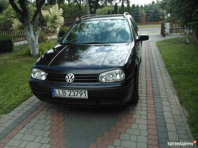 używany VW Golf IV 99r 1.9TDI 90KM hak