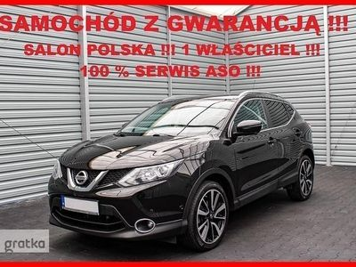 używany Nissan Qashqai II TEKNA + Salon PL + 1 Właściciel + 100% Serwis -a !!!
