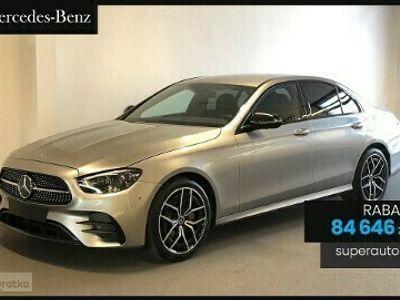 używany Mercedes 220 Klasa E 2.04-Matic (195KM)| Linia AMG + Advantage | OD RĘKI
